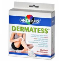 MASTER AID Dermatess standard mull-lap 10cmx 10cm 4x25