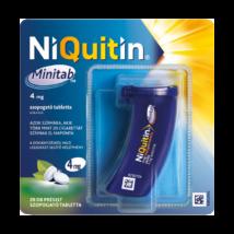 NiQuitin Minitab 4 mg préselt szopogató tabletta 3x20 műa.