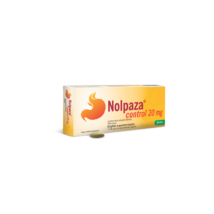 Nolpaza Control 20 mg gyomornedv-ellená. tabletta 14x bubor.