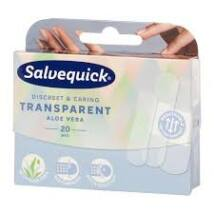Salvequick sebtapasz átlátszó aloés 20x