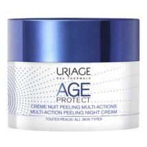 Uriage Age Protect Peeling ránctalanító krém éjsz. 50ml
