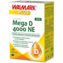Walmark Mega D 4000NE Forte kapszula 30x