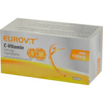 Eurovit C-vitamin  100 mg rágótabletta 60x
