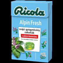 Ricola Alpin Fresh cukormentes cukorka 40g