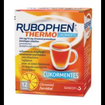 Rubophen Thermo cukorm. 500mg/10mg citromízű gran. 12x