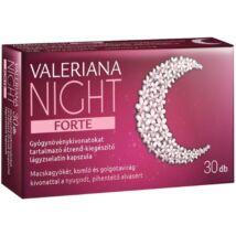 Valeriana Night Forte lágyzselatin kapszula 30x