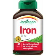Jamieson Vas 35 mg nyújtott hatóanyagleadású tabl. 60x