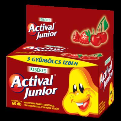 Actival Junior rágótabletta 60x tart.