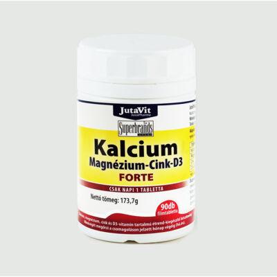 JutaVit Kalcium+ Magnézium+ Cink+ D3 forte tabl. 90x