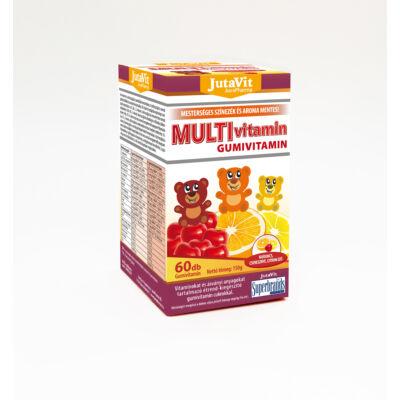 JutaVit Multivitamin gumivit. nari, cseri, citrom 60x
