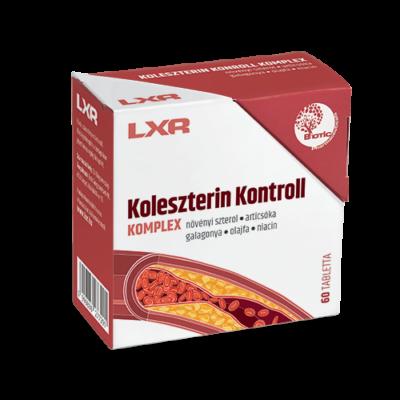 LXR Koleszterin Kontroll kapszula 60x