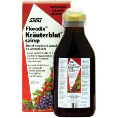 Floradix Krauterblut szirup vassal és vitaminokkal 250ml