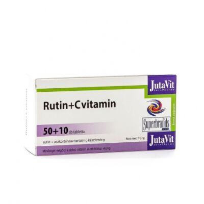 JutaVit Rutin + C-vitamin tabletta 50x+10x