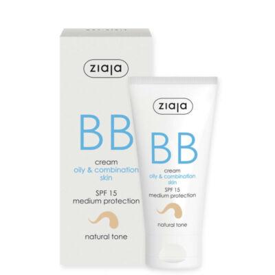 Ziaja BB krém zsíros és vegyes bőrre (natúr) FF15 50ml