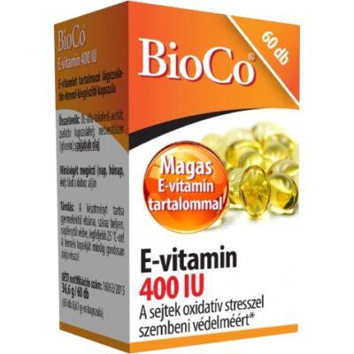 BioCo E-vitamin 400 NE lágyzselatin kapszula  60x