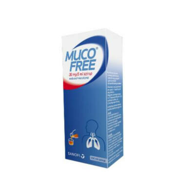 Mucofree 30 mg/5 ml szirup 1x100ml