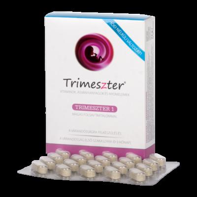 Trimeszter 1 vitamin tabl. várandósoknak jódmentes 60x