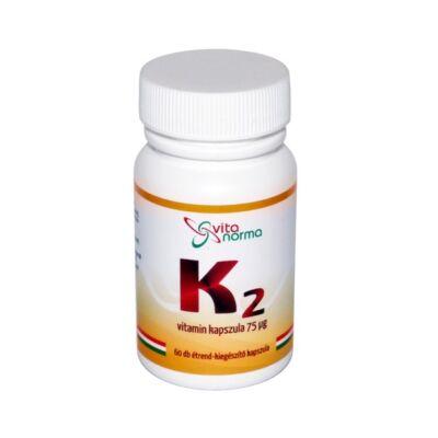 Vitanorma K2 vitamin 75 mcg kapszula 30x