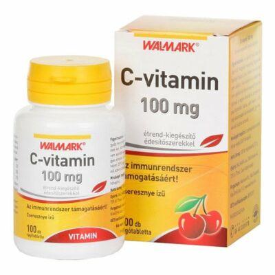 Walmark C-vitamin 100 mg cseresznye rágótabletta 100x